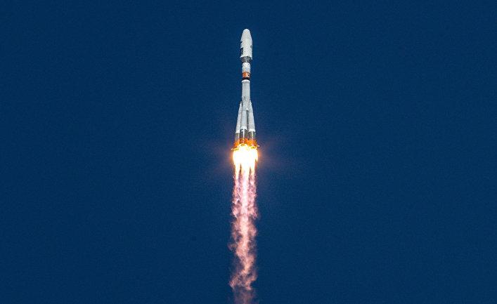 Старт ракеты-носителя «Союз-2.1а»