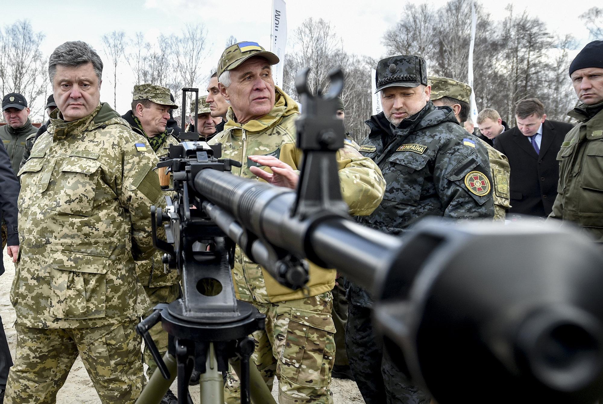 УНІАН (Украина): ВСУ еще ни разу не применяли «Джавелины» на фронте — Порошенко