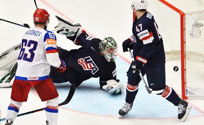 Хоккей. Чемпионат мира - 2015. Матч Россия - США