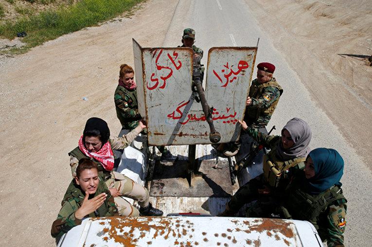Женщины против ИГИЛ