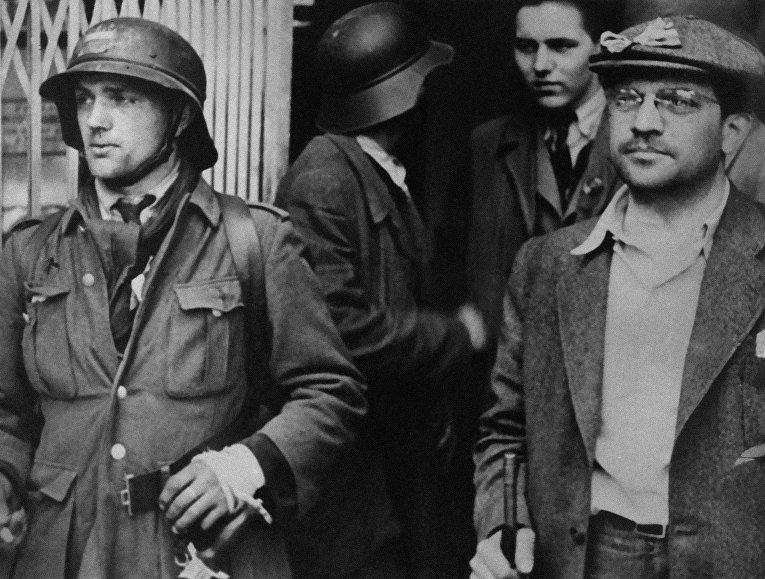Участники Пражского восстания