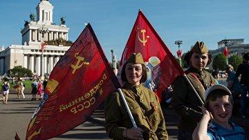 Празднование 71-й годовщины Победы ВОВ