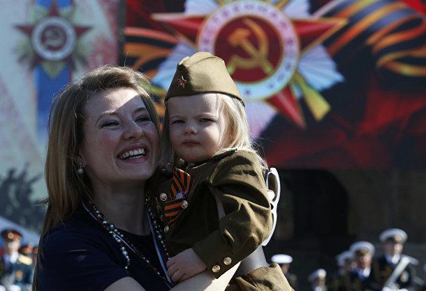 Гости на параде Победы