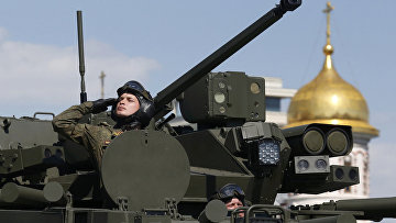 БМП Курганец-25 на параде Победы