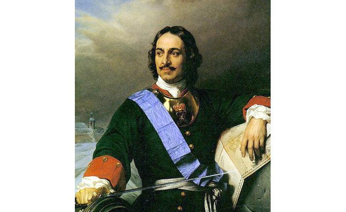 Поль Деларош. Портрет Петра I, 1838