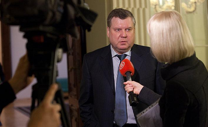 Президент «Балтийского форума» и лидер фракции «Согласия» Янис Урбанович