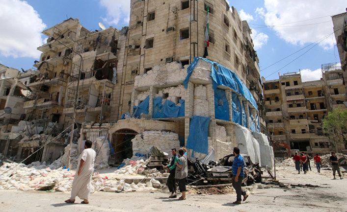Больница Аль-Кудс (Al Quds) в Алеппо, Сирия