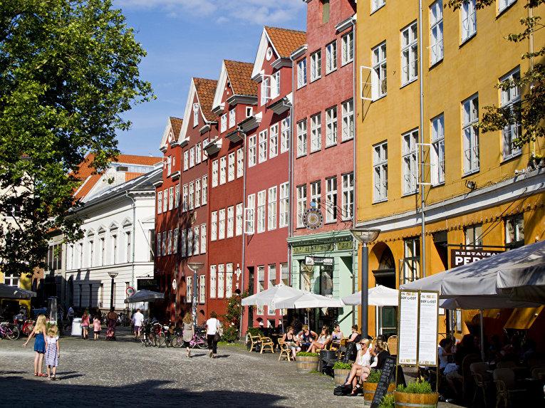 Кафе в Копенгагене