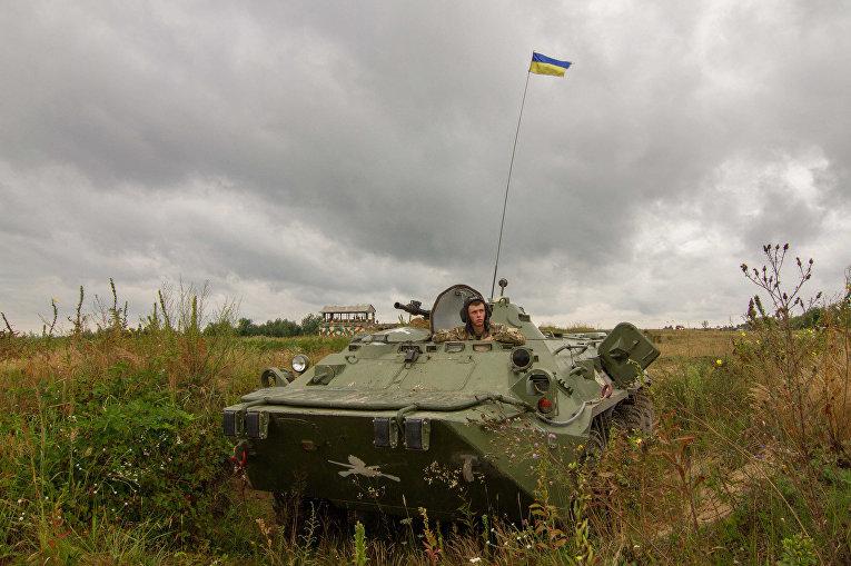 Украинско-американские учения «Репид Трайдент-2011» в Яворове