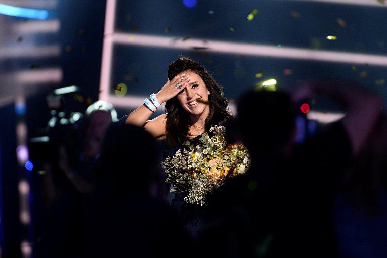 Джамала в финале международного конкурса «Евровидение-2016»