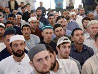 Открытие мечети имени Абдулхамида-Афанди из Инхо в городе Махачкале Республики Дагестан