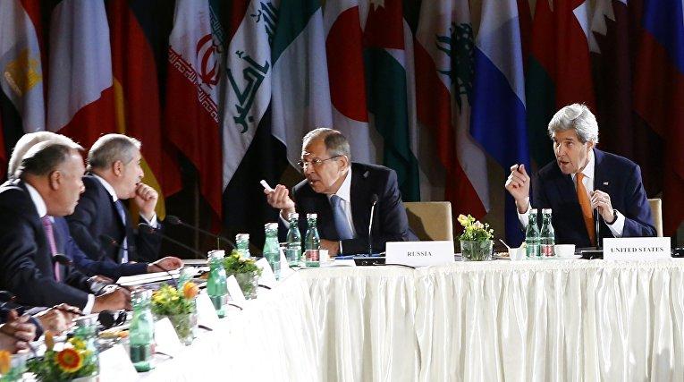 Переговоры по Сирии в Вене, Австрия