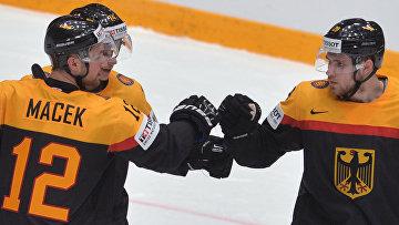 Хоккей. Чемпионат мира. Матч Финляндия - Германия