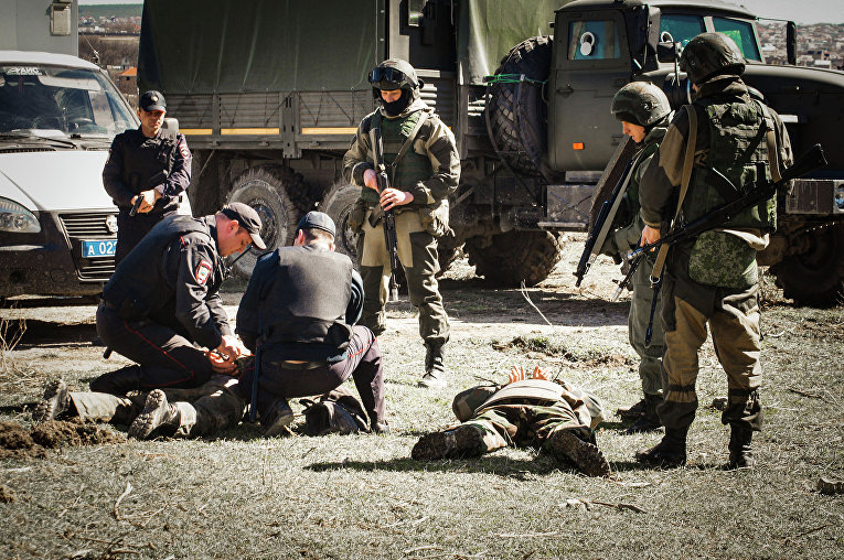 Учения внутренних войск МВД России «Заслон-2015» в Крыму