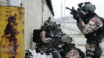 Датский спецназ во время учений в Ольборге