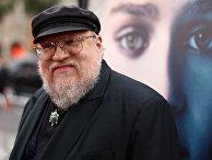 Писатель Джордж Р. Р. Мартин на премьере третьего сезона телесериала «Игра престолов»