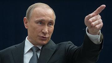 """""""Прямая линия"""" с президентом РФ В. Путиным"""