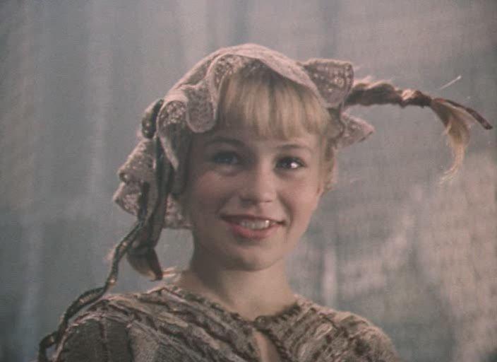 """Кадр из фильма """"Пеппи Длинныйчулок"""" (1984)"""