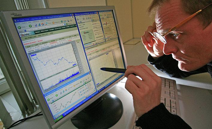 График состояния финансового рынка