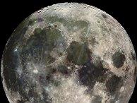 Луна, сфотографированная аппаратом «Галилео»
