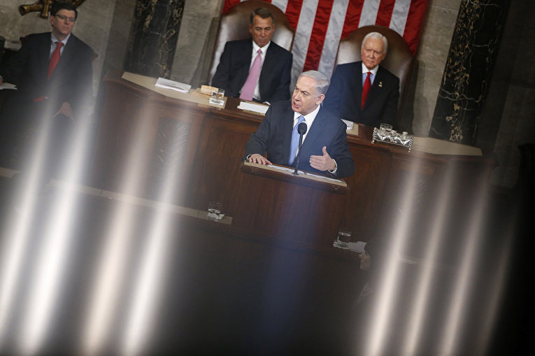 Выступление премьер-министра Израиля Биньямина Нетаньяху в Конгрессе, посвященное ядерной программе Ирана
