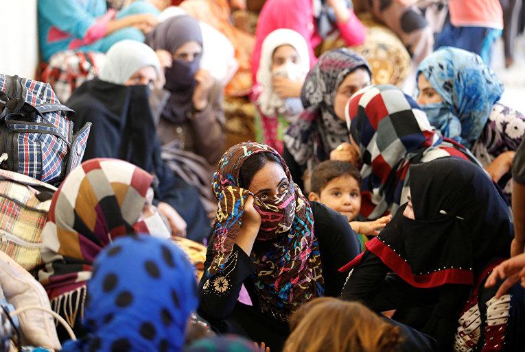 Беженцы из Фалуджи