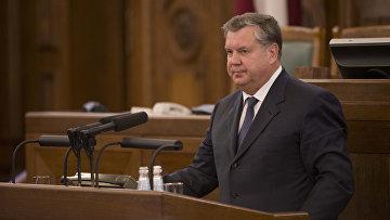 Президент «Балтийского форума», председатель фракции социал-демократической партии «Согласие» Сейма Латвии Янис Урбанович
