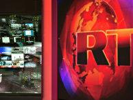 Аппаратная ньюсрума телеканала Russia Today на английском языке