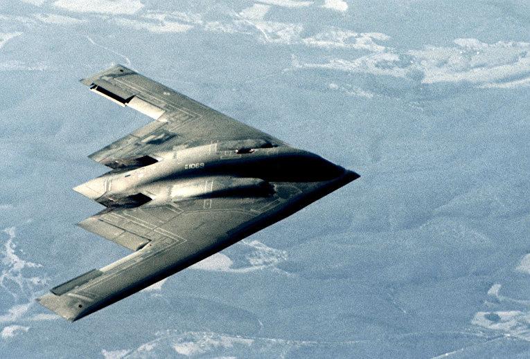 Бомбардировщик-невидимка В-2
