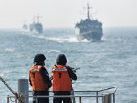 Во время учений НАТО в Балтийском море