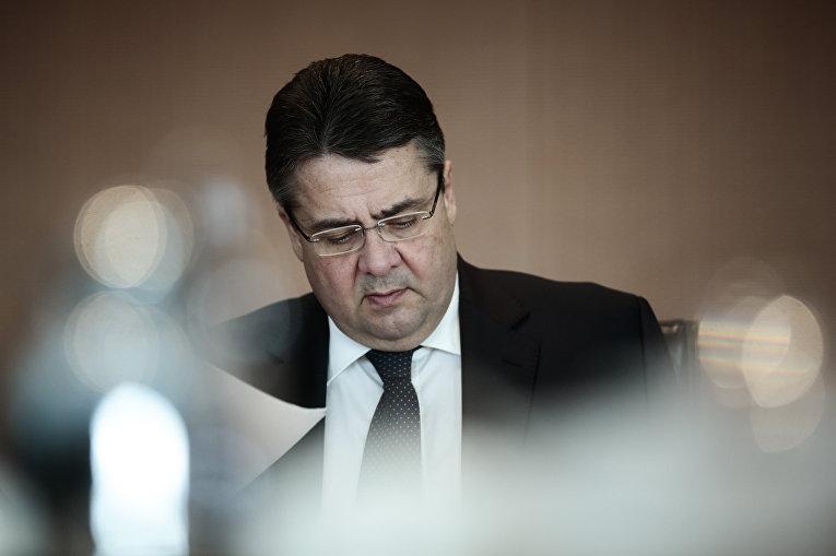 Министр экономики и энергетики ФРГ Зигмар Габриэль