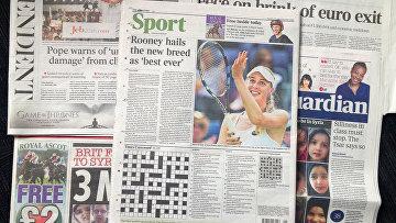 Британские газеты
