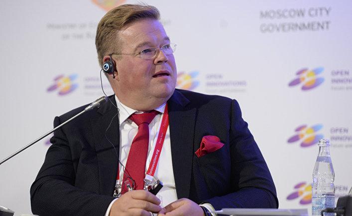 Советник президента фонда «Сколково» Пекка Вильякайнен