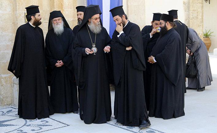 Представители православных церквей на острове Крит