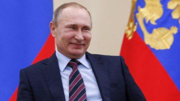 Владимир Путин на встрече с представителями бизнеса в резиденции в Ново-Огарево