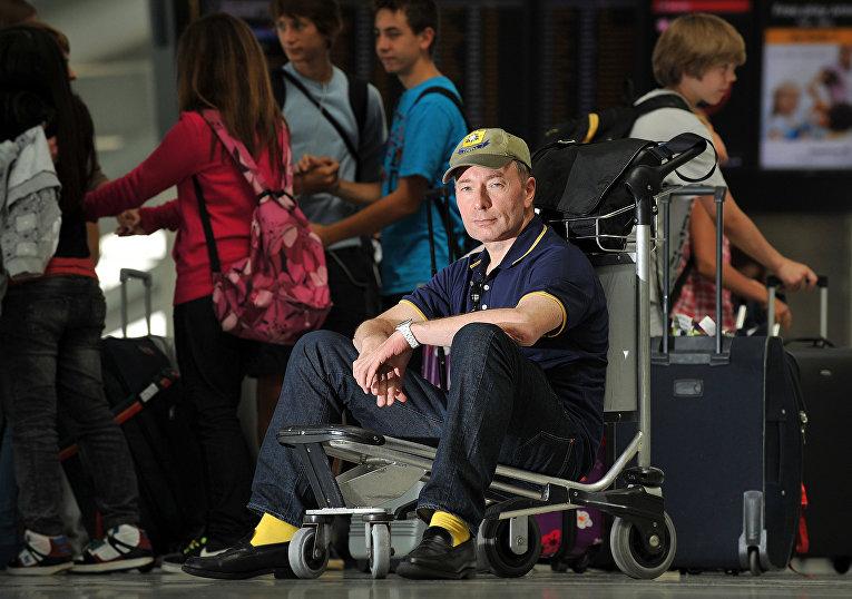 Британский журналист и писатель Тони Парсонс