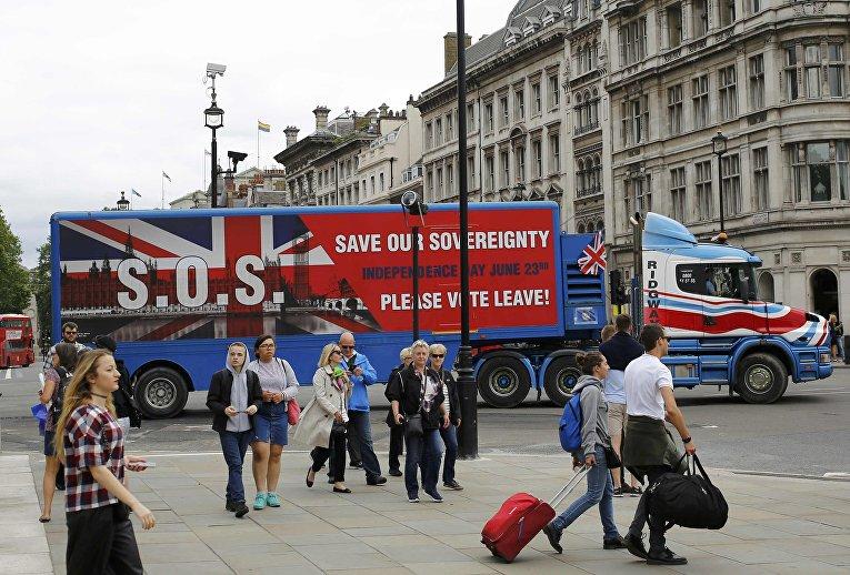 Подготовка к референдуму по выходу Великобритании из ЕС