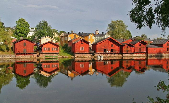 Порвоо — небольшой город в Финляндии