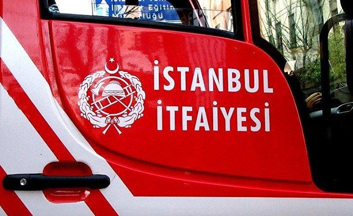Пожарная машина в Стамбуле, Турция