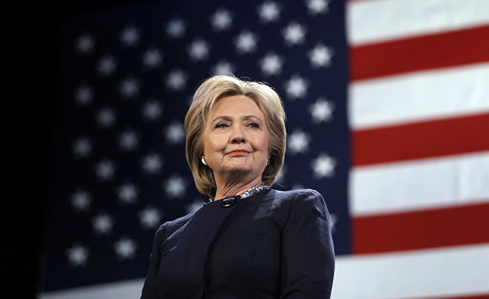 Кандидат в президенты от Демократической партии Хиллари Клинтон в ходе предвыборной кампании