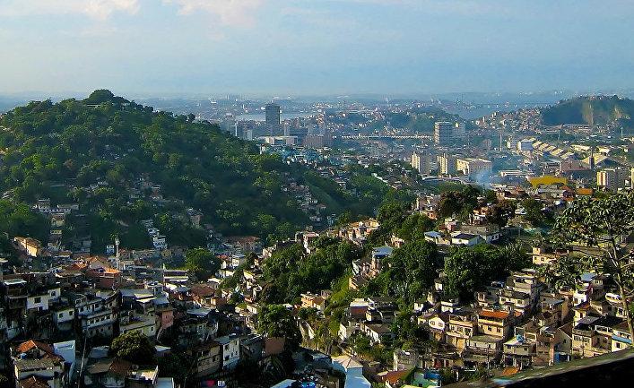 Фавелы в Рио-де-Жанейро