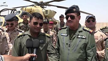 Иракские военные показали уничтожение колонны ИГ
