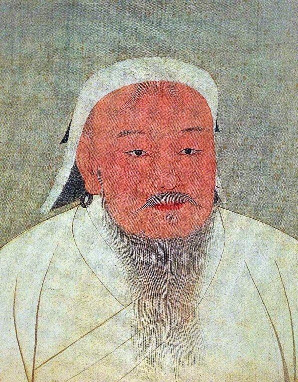 Портрет Чингисхана, XIV век
