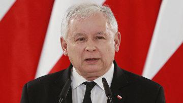 Лидер партии партии «Право и Справедливость» Ярослав Качиньский