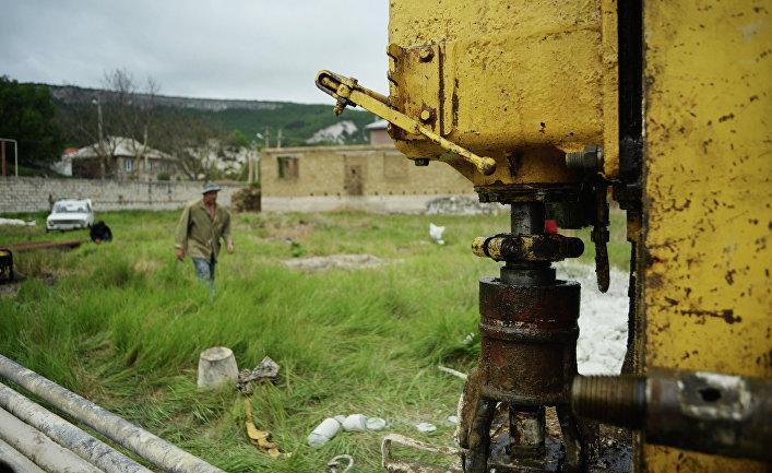 Бурение скважин для добычи воды в Крыму