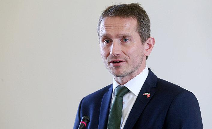 Министр иностранных дел Дании Кристиан Йенсен