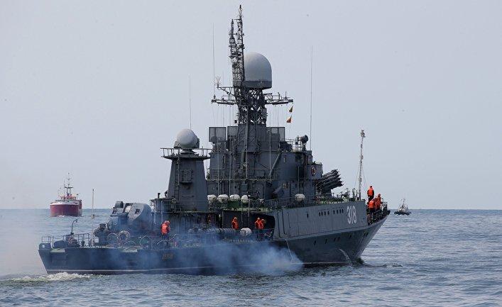 Корабли Балтийского флота в Калининграде