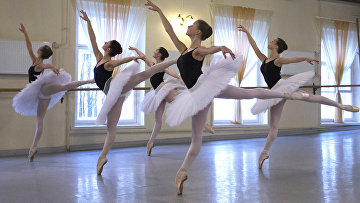 Открытый урок в Академии русского балета имени Вагановой