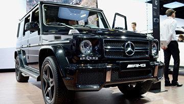 Mercedes-Benz G 63 AMG на Московском автосалоне 2012 года