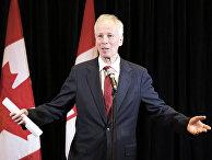 Министр иностранных дел Канады Стефан Дион